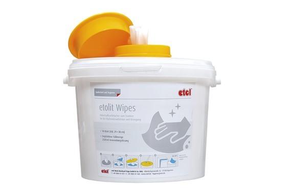 etolit Wipes - Flächendesinfektions-Set