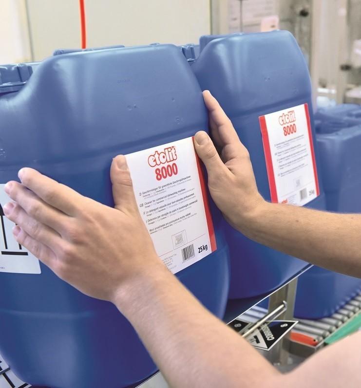 Gewerbliches Reinigungsmittel etolit Spülmaschine