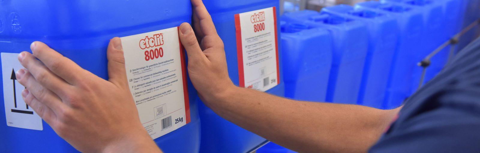 etol etolit Reinigungsmittel für gewerbliche Küchen, Spezialreiniger für Spülmaschinen