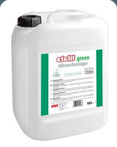 etolit green nachhaltige Reinigungsmittel, mit EU-Ecolabel ausgezeichnet